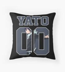 Yato God - Noragami Jersey Throw Pillow