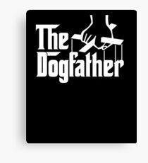 The Dogfather Movie Parody Canvas Print