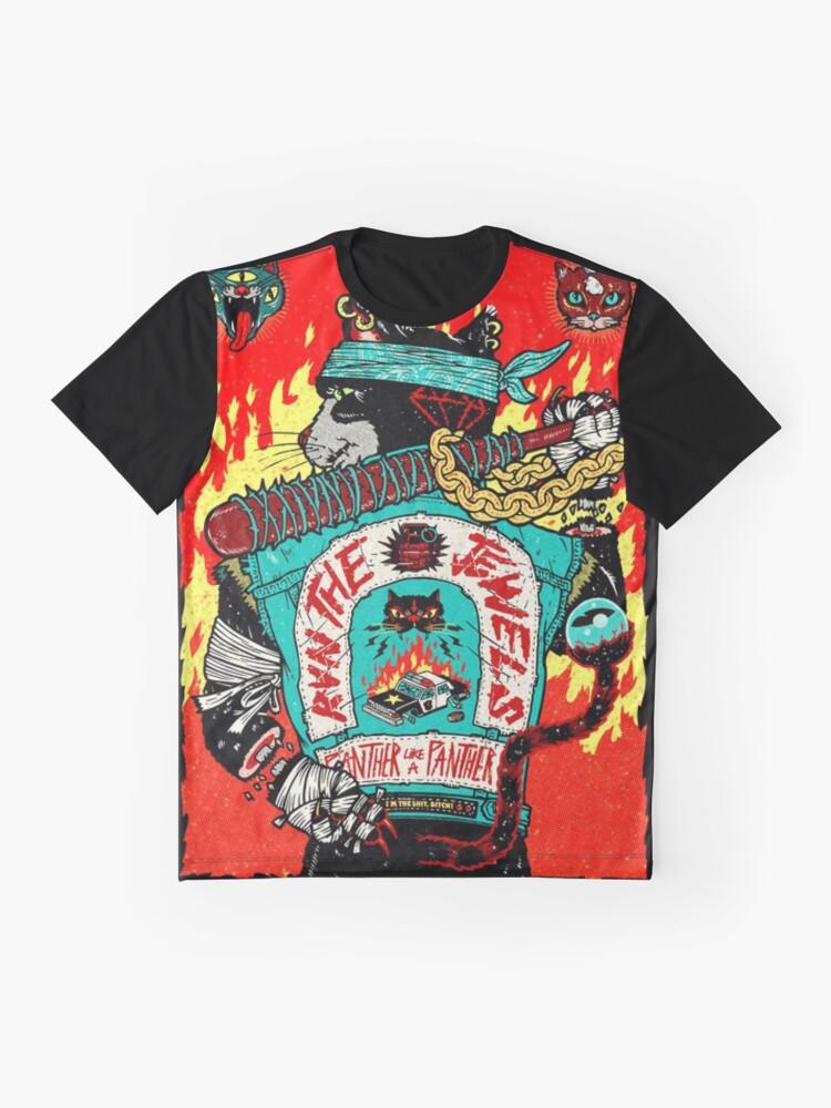Alternative Ansicht von Run The Jewels Panther wie ein Panther RTJ Grafik T-Shirt
