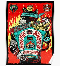 Run The Jewels Panther wie ein Panther RTJ Poster
