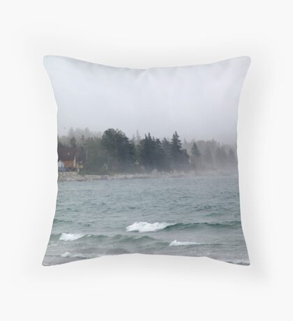 Summerville Beach Throw Pillow