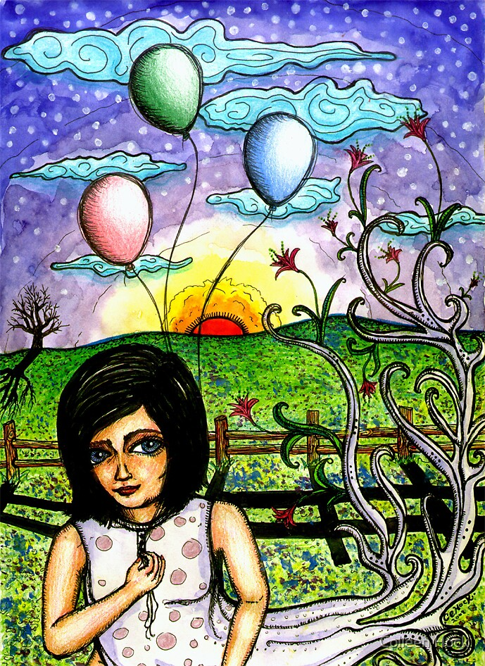 Balloons by Colleen Hock