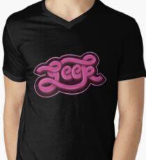 GEEK (Pink) Men's V-Neck T-Shirt