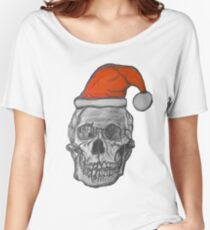 Heavy metal Christmas Women's Relaxed Fit T-Shirt