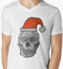 Heavy metal Christmas Men's V-Neck T-Shirt