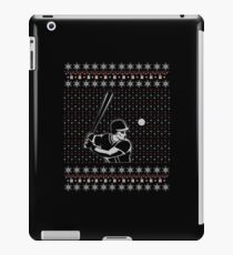 Baseball - Ugly Christmas Sweater Gift iPad Case/Skin