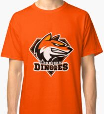 Canberra Dingoes Ice Hockey Team Classic T-Shirt