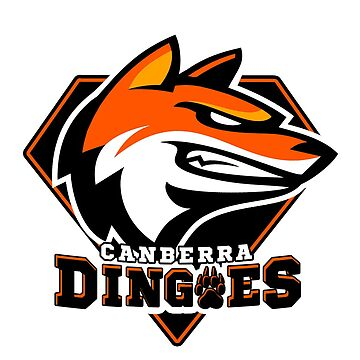 Canberra Dingoes Ice Hockey Team by CharliFaure