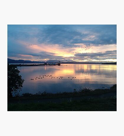 Quiet time on the Bay Photographic Print