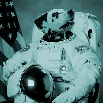 Astronaut Dog II by GeorgeSears