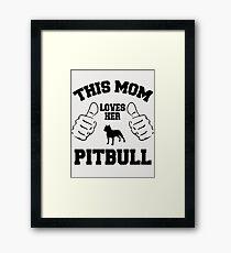Pit-Bull Framed Print