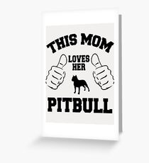 Pit-Bull Greeting Card