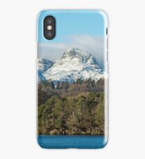 The Langdale Pikes in Winter iPhone Case/Skin