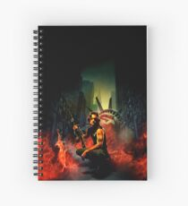 Escape from New York Spiral Notebook