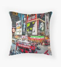 Times Square II widescreen Floor Pillow