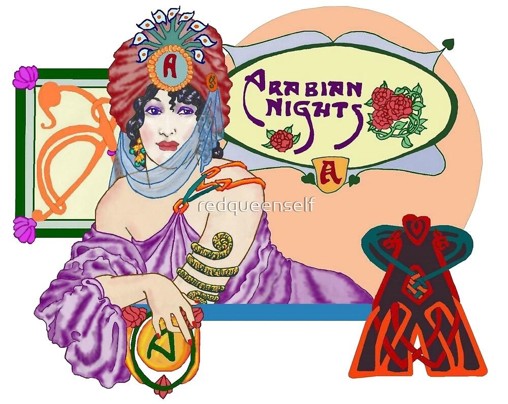 Arabian Nights by redqueenself