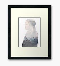 Clarke - The 100 - 2 - poster Framed Print