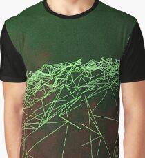 Digital Wave Graphic T-Shirt