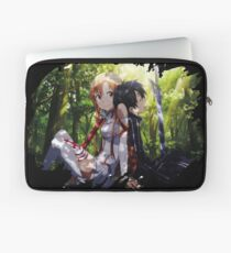 SAO asuna kirito love Laptop Sleeve