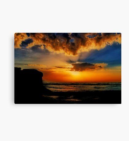 """Jan Juc Sunrise"" Canvas Print"