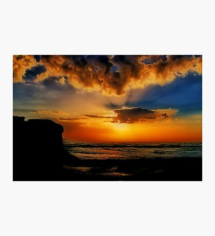 """Jan Juc Sunrise"" Photographic Print"