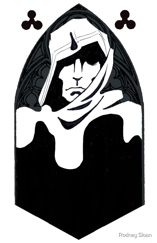 Cleric in the Cathedral by Rodney Sloan