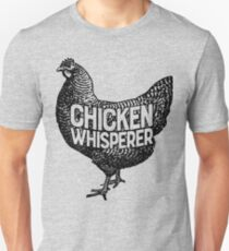 Chicken Whisperer Shirt Funny Farming Farm Poultry Gifts T-shirt for Farmers or Chicken Lovers Unisex T-Shirt