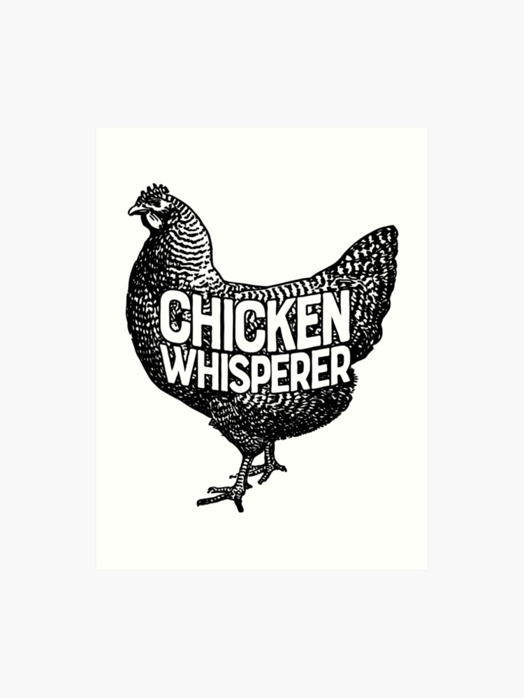 c0d3478d8 Chicken Whisperer Shirt Funny Farming Farm Poultry Gifts T-shirt for  Farmers or Chicken Lovers