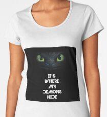 Imagine Dragons - Toothless Women's Premium T-Shirt