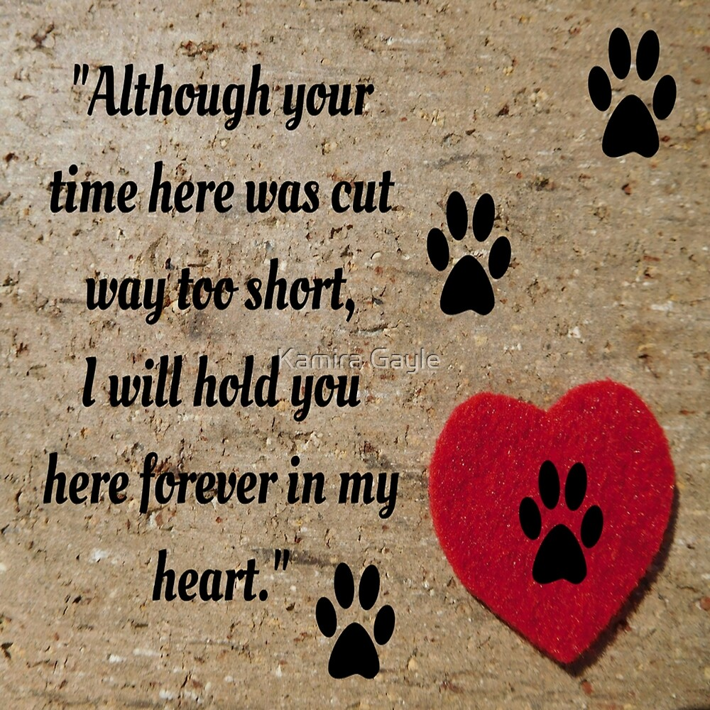 I will hold you forever in my heart by Kamira Gayle