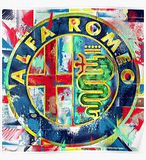 Póster Alfa Romeo