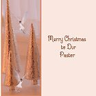 Christmas Card for Pastor by Rosalie Scanlon