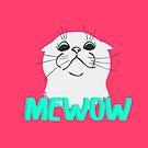 Mewow Cat 2 by Andreea Butiu