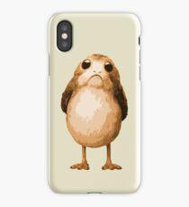 Porg iPhone Case/Skin