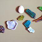 Beach treasures #2 by Elena Kolotusha
