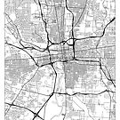Columbus Map Minimal by HubertRoguski