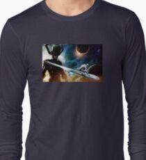 silver surfer glalactus  Long Sleeve T-Shirt