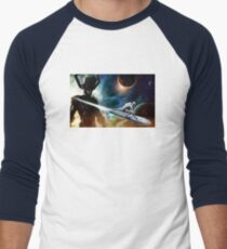 silver surfer glalactus  Men's Baseball ¾ T-Shirt