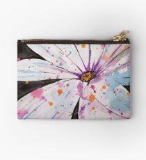 Spring-Splattered Daisy Studio Pouch