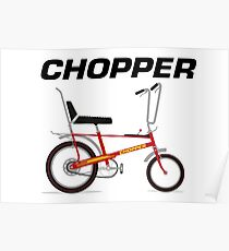 Raleigh Chopper Posters | Redbubble