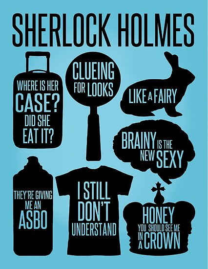 Sherlock Quotes Best Sherlock Quotes Posters By Cucumberpatchx Redbubble