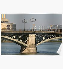 Triana Bridge Poster