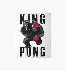 Vintage King Pong - Ping Pong Table Tennis T-Shirt Art Board