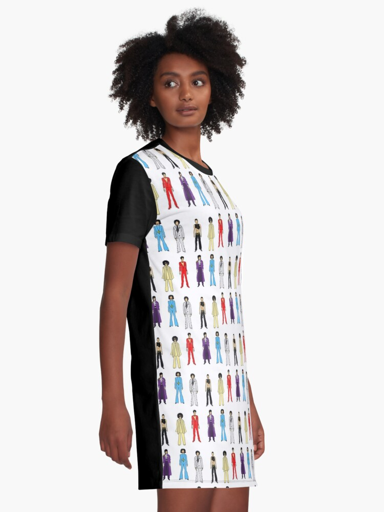 Alternate view of Prince and Princesses Graphic T-Shirt Dress