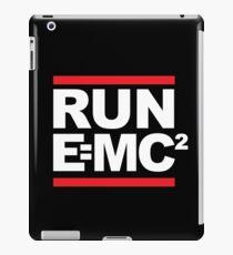 Run EMC (E=MC2) Einstein Theory Classic Logo iPad Case/Skin