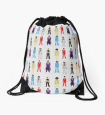 Prince and Princesses Drawstring Bag