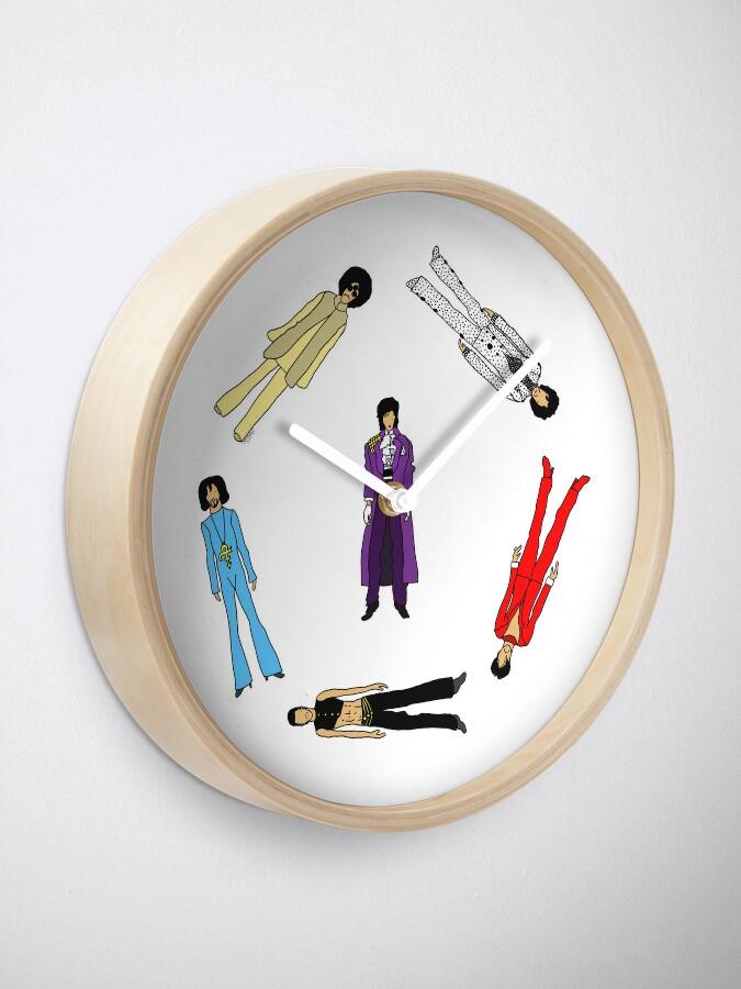 Alternate view of Prince and Princesses Clock