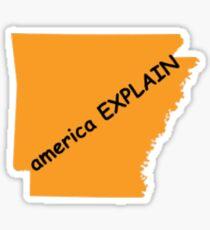 American Explain Vine Sticker
