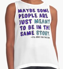 Be in the Same Story Contrast Tank