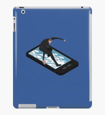 Surfing The Web iPad Case/Skin